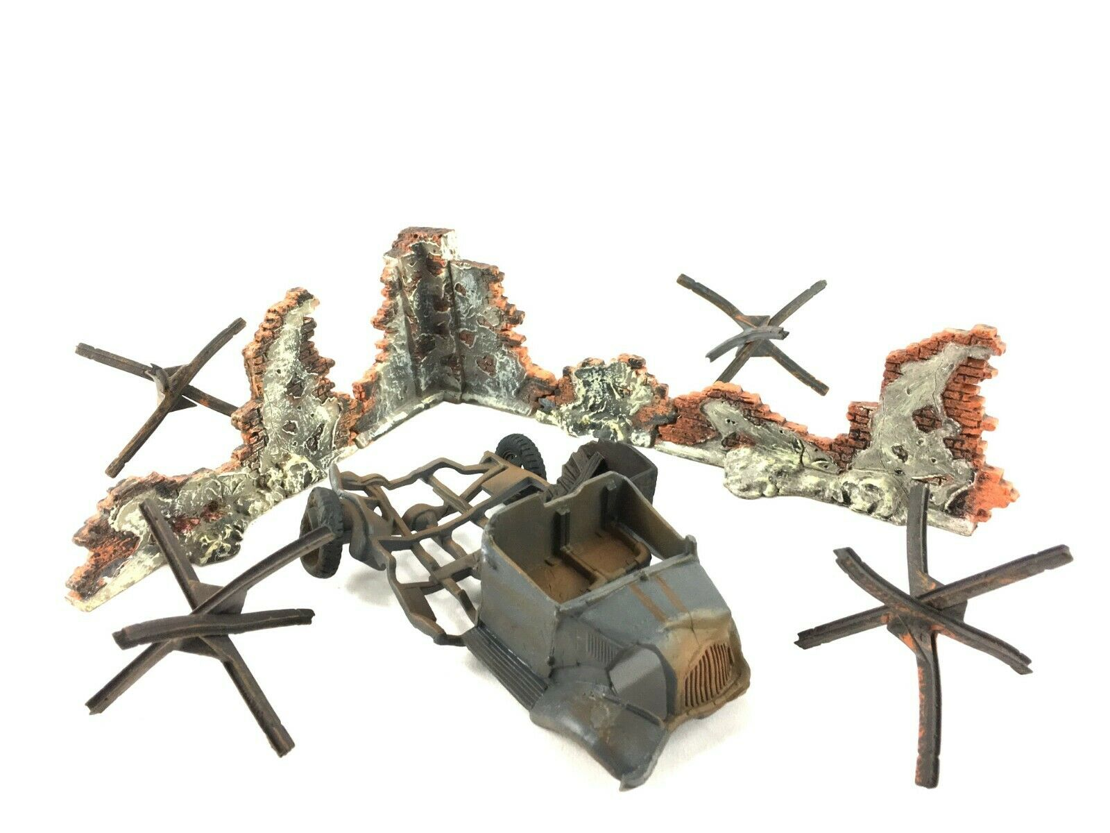 1 32  54mm Unimax - leksaker - Forces of Valor WWWII Diorama Accessors Lot