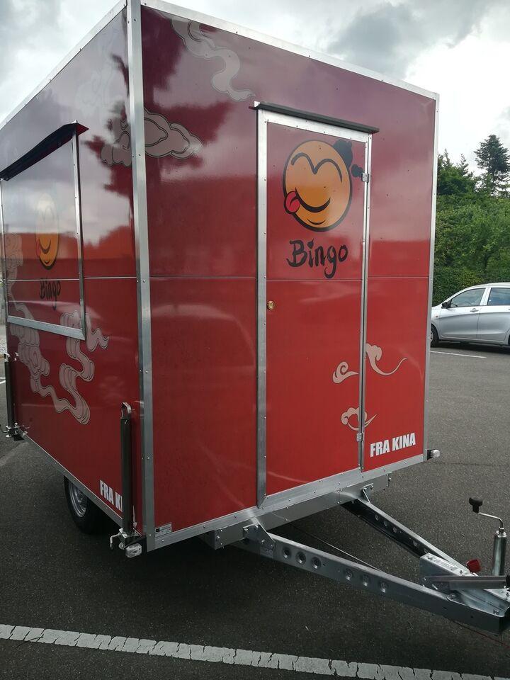 Salgsvogn, Classic Brenderup, lastevne (kg): 600