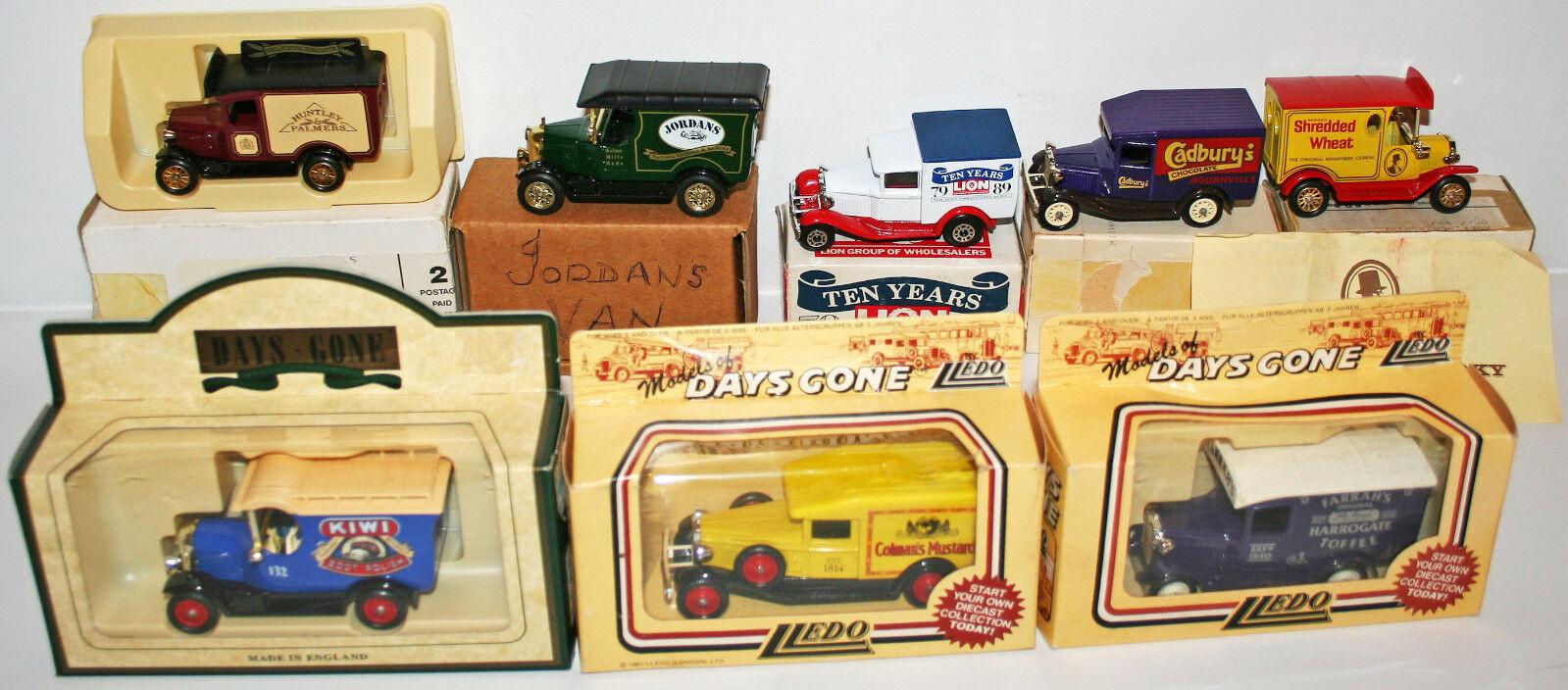 tienda en linea Vehículos  conjunto conjunto conjunto de 9 Die Cast van Modelos Por Lledo (DT) 170  ofrecemos varias marcas famosas