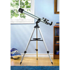 High Power Portable Telescope w/Tripod 60mm Coated Lens Focal Length 800mm f/13