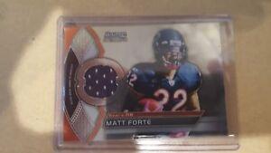 2011-Bowman-Sterling-Relics-BSR-MF-Matt-Forte-Chicago-Bears-Football-Card