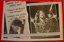"Rory Gallagher Philby Vintage ORIGINAL 1979 Press/Magazine ADVERT 13""x 8.5"""