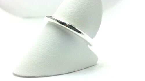 Sterling Silver High Poli 2.5 mm Forme Ronde Halo Mariage Bande Bague Corde Anneau