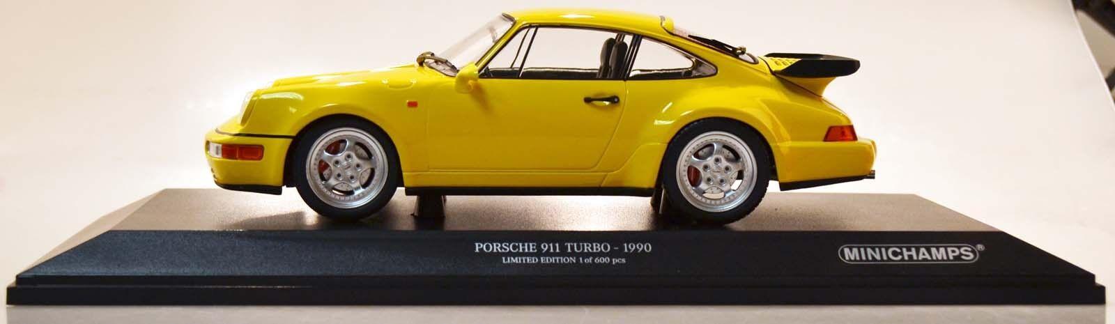 consegna gratuita Minichamps 155069100 PORSCHE 911 Turbo 1990 GItuttiO 1 18 18 18 Nuovo Scatola Originale  risposte rapide