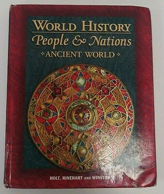 World History People And Nations Ancient World By Holt Rinehart Winston Harcourt 9780030535246 EBay