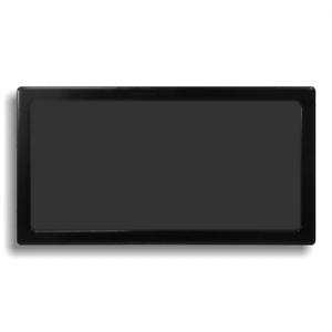 Black Frame//Black Mesh Bottom DEMCiflex Dust Filter for NCASE M1
