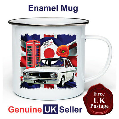 Enamel Cup Elegant In Smell Mugs Ford Cortina Mk2 Mug,11oz Enamel Ford Cortina Mk2 Camping Mug