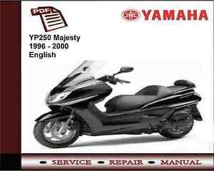 yamaha yp250 yp 250 majesty 1996 2000 workshop service repair rh ebay ie yamaha 250 majesty manual yamaha yp 250 majesty (2002) service manual.pdf
