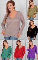 pick color t shirt top blouse cross over jersey stretch M L XL 1X 2X ONE SIZE