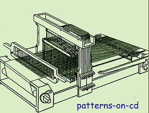 TABLE-LOOM-WEAVING-HAND-WEAVING-HOW-TO-manual-CD