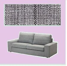 IKEA Kivik 2-Seat Loveseat Sofa Cover Isunda Gray Slipcover AUTHENTIC NEW Disc