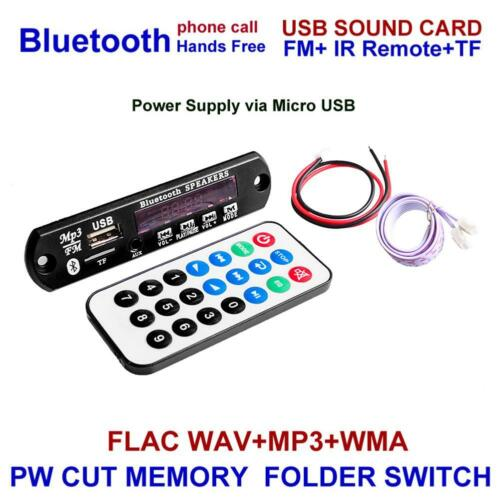 Wireless Bluetooth 12V MP3 WM Decoder Board udio Module for Car PRO /&