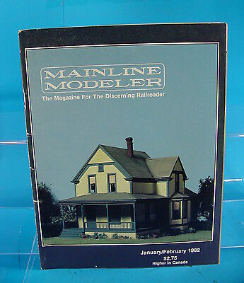AND MORE MAINLINE MODELER MAGAZINE AUGUST//SEPTEMBER 1982 UP TANK CAR NKP 4-6-0