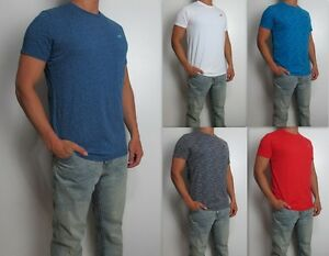 NWT-HOLLISTER-Men-Must-Have-Slim-Crew-Neck-tag-less-T-Shirt-Tee-By-Abercrombie