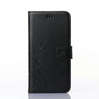 Flip Wallet PU Leather Case Pouch Cover Stand Card Holder For Samsung&Apple New