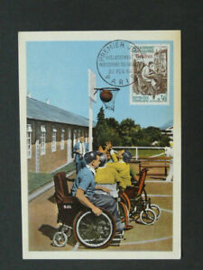 basketball handicapped disabled maximum card 40533