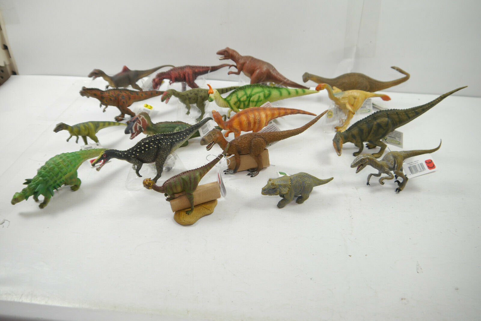 Collecta 18 Various Various Various Dinosaur Dino Figurines Prehistoric Animals Ca.8-18cm New ( a45d16