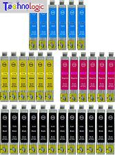 30 CARTUCCE COMPATIBILI PER EPSON STYLUS T711 SX100 218 200 400 405 BX300 DX4000