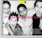 (FM578) It's Only Rock & Roll, various artists - 1999 DJ CD