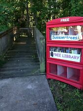 Sidewalk Library Stand - Water-proof plastic - Ample storage for books!
