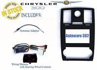 Chrysler 300 Factory Navigation Install Radio Dash Kit Can Bus Steering Controls