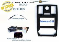 Chrysler 300 Factory Navigation Install Radio Dash Kit Can Bus Steering Controls