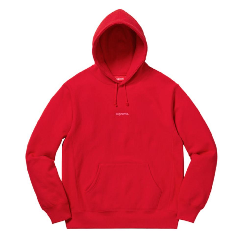 Supreme Trademark hooded Sweatshirt rot Boxlogo ROT Shirt Gr. M NEU NEW Hoody
