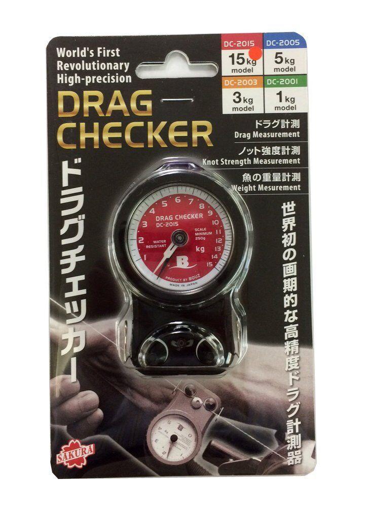 Sakurai artes de pesca Bouz Arrastre Checker 15 kg DC 2015 Japón