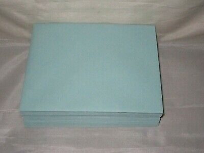 """4⅜/""""x5¾/"""" 25  ~ A2 Envelopes by Waste Not Paper ~ Color = Pool blue"""