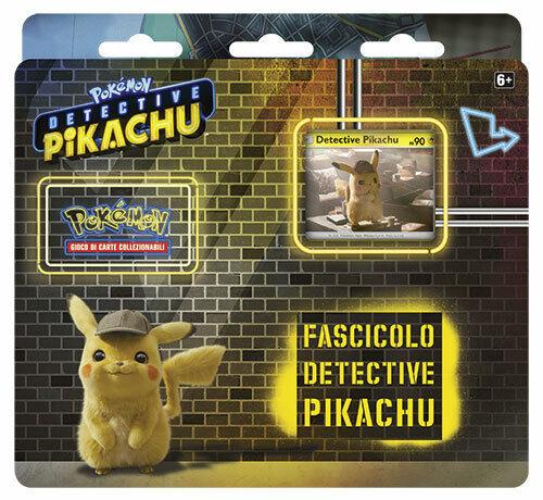 Box Pokemon FASCICOLO DETECTIVE PIKACHU IN ITALIANO ITA