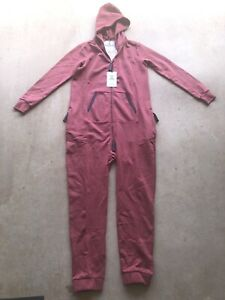 THE-NORWEGIAN-ORIGINAL-One-Piece-Jump-In-Jumpsuit-Maroon-Red-NEW-Size-Large