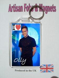 Olly Murs Key Ring /& Fridge Magnet Set