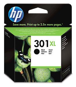 301XL-HP-Black-Cartuccia-Originale-Colore-Nero-Getto-d-039-Inchiostro-CH563EE-InkJet