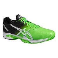 Asics Gel Solution Speed 2 Edition Black Green Tennis / Padel Shoe 2015