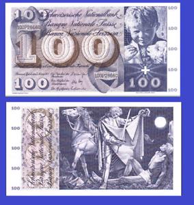 Switzerland 100 francs 1973 UNC Reproduction