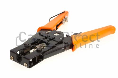 Coax Compression Crimping Tool F BNC RCA Crimper RG59 RG6 Cable Connectors