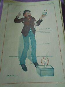 M-Gustave-Herve-nouveau-joeur-de-l-039-annee-fumier-dessin-A-Barrere-Print-Art-deco