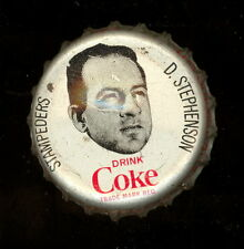 1965 COKE CAPS COCA-COLA CAP CORK CFL FOOTBALL Don Stephenson Calgary Stampeders