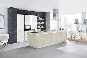 Nolte küchen magnolia matt  Nolte Küche Portland Zement matt/ Hochschränke in Lack Magnolia ...