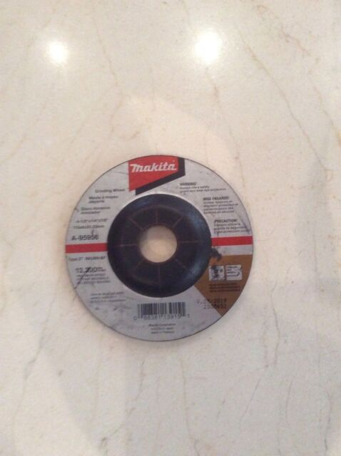 Pack of 25 Makita A-95956-25 36 Grit INOX Grinding Wheel 4-1//2 x 1//4 x 7//8