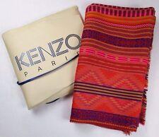 New in Box KENZO Large Scarf/Wrap/Stole; 71 x 30; Southwestern Print