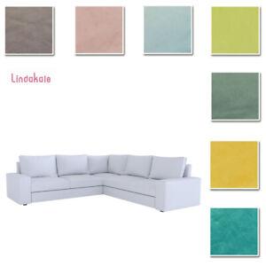 Custom-Made-Cover-Fits-IKEA-Kivik-5-Seat-Corner-Sofa-Sectional-Cover-Velvet