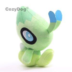 Celebi-Plush-Toy-Stuffed-Animal-Soft-Plushies-Doll-9-039-039-Figure-Teddy-Kids-Gift