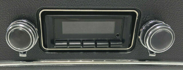 1969-1972 Chevy Chevelle El Camino Stereo  Radio Free Aux Cable Included