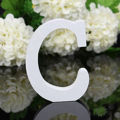 Decoración En Hogar Blanco A-Z Letras De Madera Hogar Arte Decoración