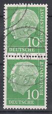 BRD 1954 Mi. Nr. 183 senkrechtes Paar gestempelt (18316)
