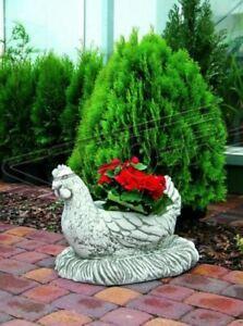 Figur Blumenkübel Pflanz Kübel Dekoration Figur Blumentöpfe Garten Vasen 575