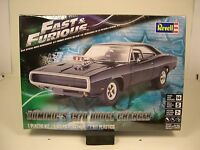 Revell 1:25 Scale Fast And Furious 1970 Dodge Charger Plastic Model Car Kit
