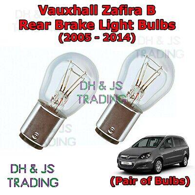 Pair White LED Superlux Side Light Beam 15 SMD Bulbs Fits Vauxhall Zafira MK2//B