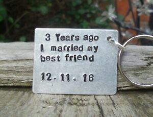 3 Years Ago I Married My Best Friend 3rd Wedding Anniversary Gifts Wife Husband Ebay